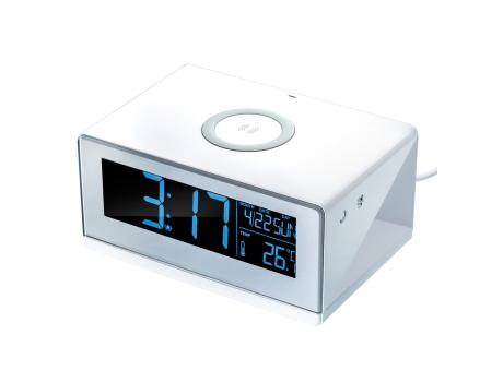 Cargador inhalambrico con alarma